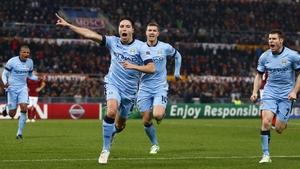 Samir Nasri set Man City on their way