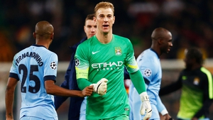 Joe Hart may get the nod to play for City against Steaua Bucharest