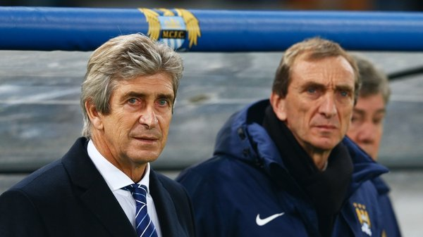 The pressure is increasing on Manchester City boss Manuel Pellegrini