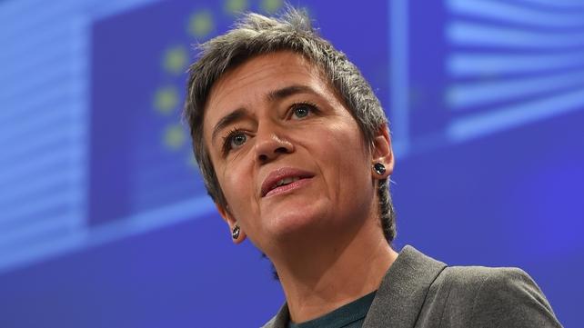 EU Competition Commissioner Margrethe Vestager