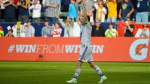 Robbie Keane has enjoyed a triumphant year with Los Angeles Galaxy
