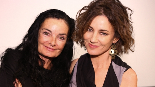 Film director Mary McGuckian and actress Orla Brady attend a private screening of The Price of Desire at the Tribeca Cinemas in New York in October.