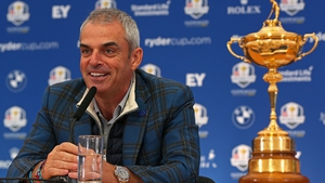 Paul McGinley was a victorious Ryder Cup captain in 2014