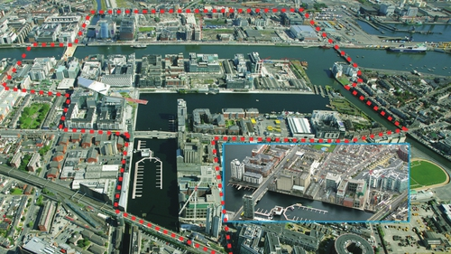 Dublin City Council gave permission under a Strategic Zone Development (SDZ) plan