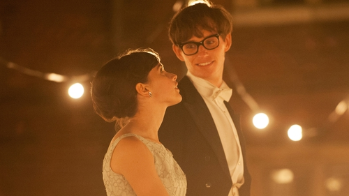 Felicity Jones and Eddie Redmayne are central to the film's success