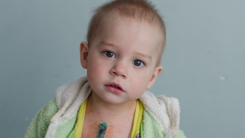 Pavlov is one of many children operated on by Irish-sponsored cardiac surgeons
