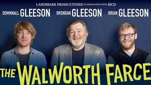 The trio of actors will be discussing starring in the upcoming production of The Walworth Farce at Dublin's Olympia Theatre
