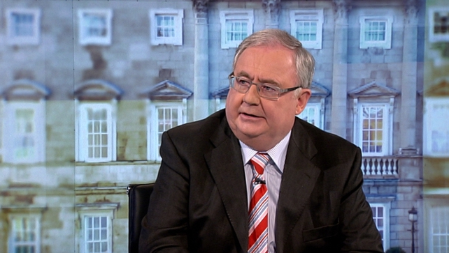 Pat Rabbitte said the Government is concentrating on tackling the erosion of living standards