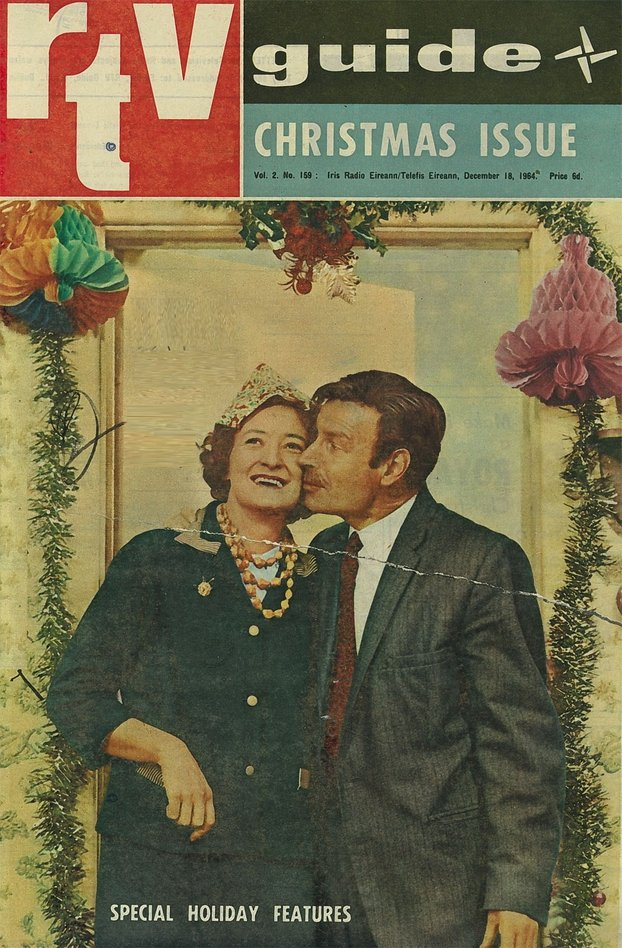 RTV Guide Christmas Cover, 1964