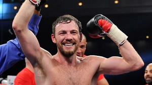 Andy Lee won his world title with a sixth-round stoppage of Matt Korobov in December