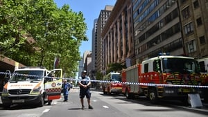 Parts of the CBD were sealed off and evacuated