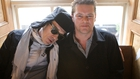 Olaf Tyransen with Alabama 3's Larry Love