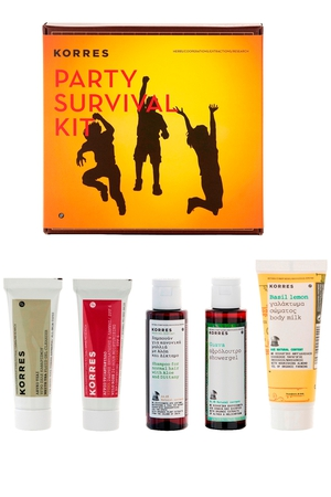 Korres Party Survival Kit €23 from www.debenhams.ie