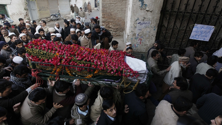 Peshawar in shock following massacre of children