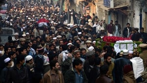 The first of the funerals were held yesterday with the rest taking place today