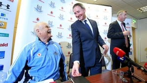 Andy Kettle and Jim Gavin worked closely together to develop the Dublin football team