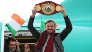 Andy Lee in Limerick this afternoon