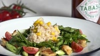 Louisiana Crab Salad - A great combination of flavours.
