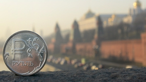 The interest rate increase this week failed to halt the drop in the rouble