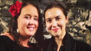 Margaret Brophy and Lisa Hannigan