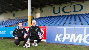 Pat Devlin and Collie O'Neill are now in charge of First Division side UCD