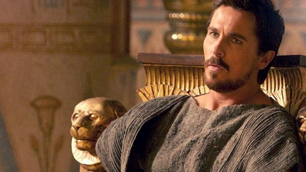 Christian Bale as Moses in Exodus: Gods and Kings