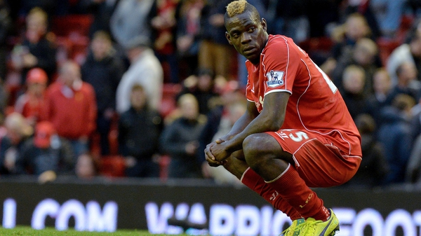 Mario Balotelli has been told he might have to get used to being on the bench