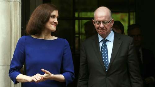 Theresa Villiers and Charlie Flanagan will discuss the impact of Brexit on Northern Ireland
