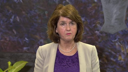 Joan Burton said it is a difficult issue for Fine Gael and for Taoiseach Enda Kenny personally to address