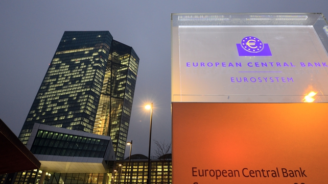 Growth of loans to the private sector in the euro zone picked up marginally last month, ECB says