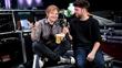 Ed Sheeran sings as Gaeilge