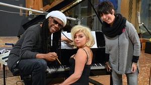 Nile Rodgers, Lady Gaga and Diane Warren