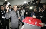 Current president Moncef Marzouki took 33% of ballots in the first round of voting in November