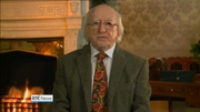 One News: President Higgins gives annual Christmas message