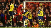 Martin Skrtel heads the equaliser in the 97th minute