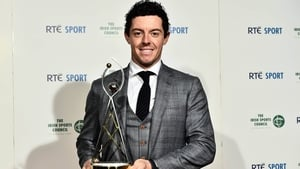 Four-time Major champion Rory McIlroy is the RTÉ Sport Sports Person of the Year