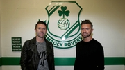 Robbie Keane and Stephen McPhail will face off in February