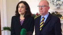 Theresa Villiers and Charlie Flanagan are in Belfast today