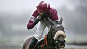 Bryan Cooper rode Clarcam to success in the Novice Chase
