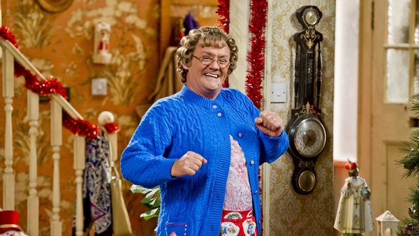 It is the second year in succession that Mrs Brown's Boys has topped the ratings in the UK