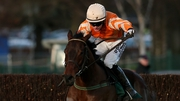 Twinlight, ridden by Paul Townend, races clear of the last on the way to winning the Paddy Power Dial-a-Bet Chase