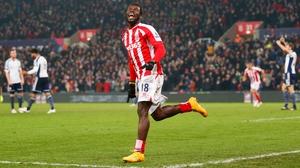 Mame Biram Diouf scored both Stoke's goals