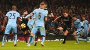 Ashley Barnes scores Burnley's equaliser