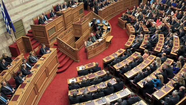A final round of voting by members of parliament failed to elect a new president