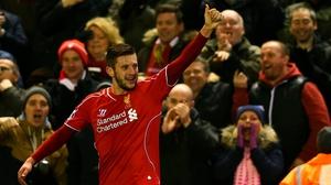 Adam Lallana scored twice as Liverpool beat Swansea