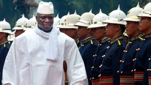 Gambia's President Yahya Jammeh was reportedly in France when the violence broke out