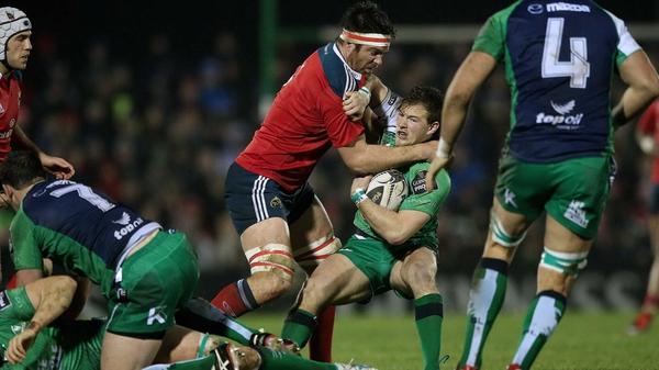 Billy Holland in action for Munster