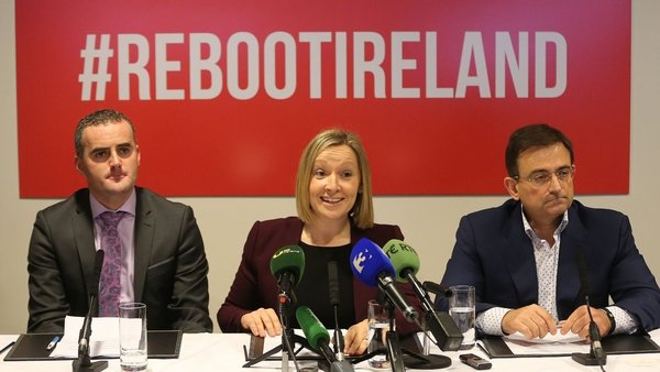 The three held a press conference in Dublin this morning