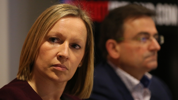 Lucinda Creighton, leader of the Renua Ireland party, has lost her seat