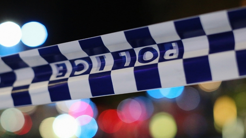 New South Wales police are examining the scene of the incident